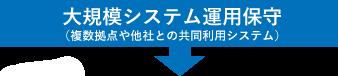大規模システム運用保守(複数拠点や他社との共同利用システム)
